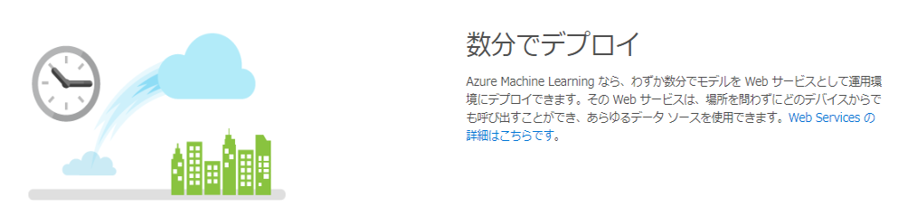 Azure ML Studio の公式